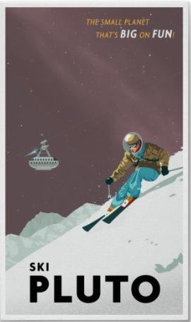 Pluto Fun Poster