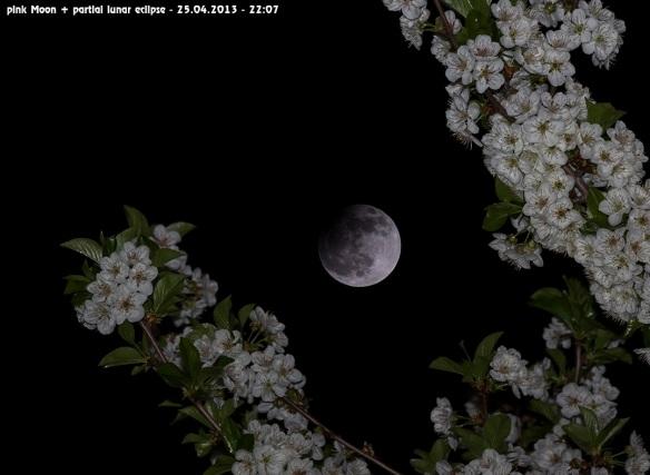 Partial Lunar Eclipse April 25, 2013