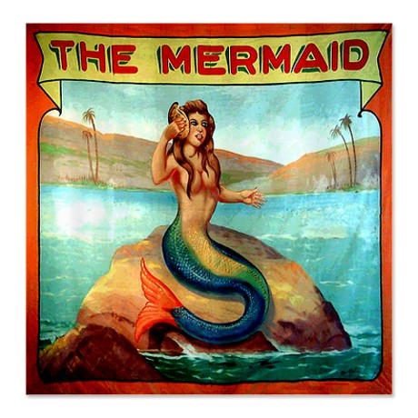 Mermaid carnival poster