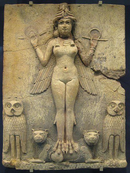 Sumerian Inanna ~ Goddess Ishtar