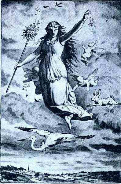 Moon Goddess Astarte