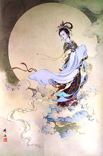 Chang'e Moon Goddess of Immortality
