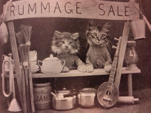 Rummage Sale Cats!