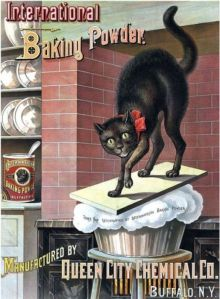 Vintage Cat Baking Soda Ad