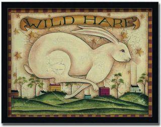 Vintage Hare Sign