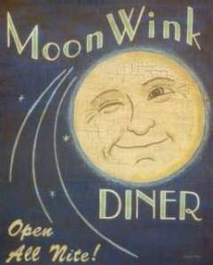 vintage moon sign