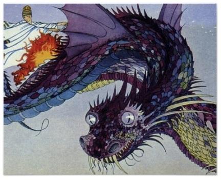 Flying Myth Dragon