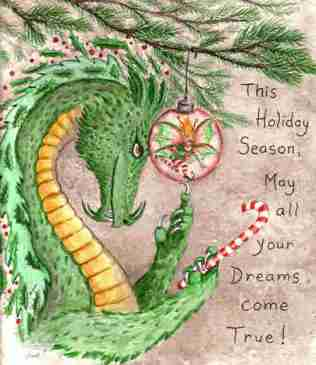 Holiday Dragon Dreams
