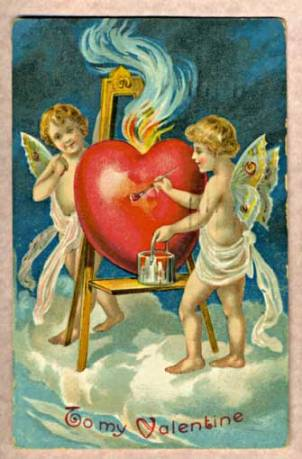 Antique Valentine 1909
