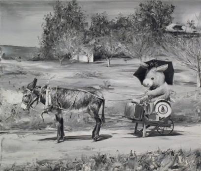 Paco Pomett surreal vintage art