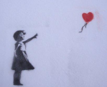 Banksy baloon girl