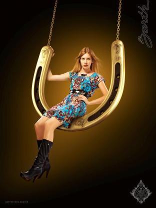 Barth Lucky Horse Shoe Girl