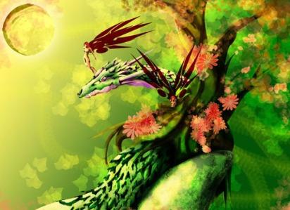 Wood Dragon spirit