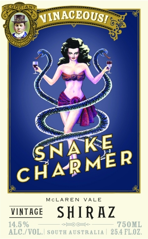 Snake Charmer Label