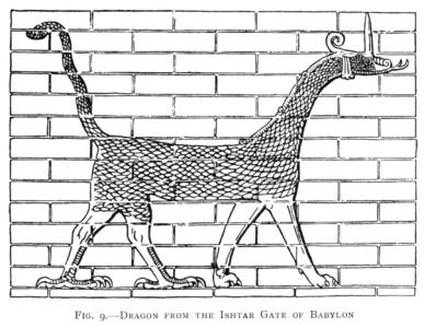 Dragon at the Ishtar Gate of Babylon