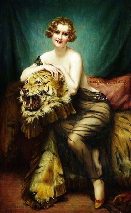 François Martin-Kavel - The Tiger Lady