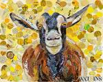 Smiling Goat by Beth Watkins