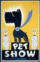 Dog Show | WPA Poster