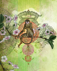 Cheeky Monkey by Aimee Stewart