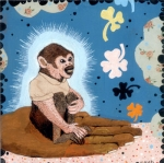Lucky Monkey by Martha Rich