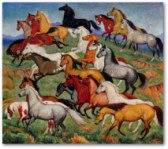 Many Horses | Ila Mae McAfee
