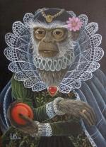 Monkey Queen mural
