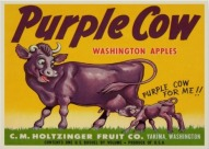 Purple Cow sign