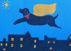 Blue Angel Dog by Richard