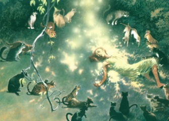 Circle of Cats by Charles Vess