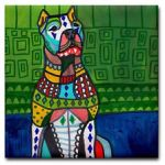 Dogo Dog art-tile