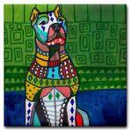 Dogo Dog art-tile