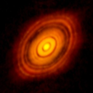 Alam HL Tau | new star formation, Nrao