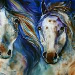 Wild Blue Appaloosa's