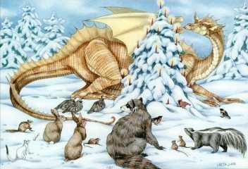 Holiday Magic Dragon