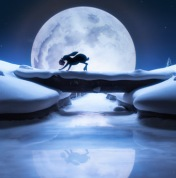 Moon Hare by John Lewis