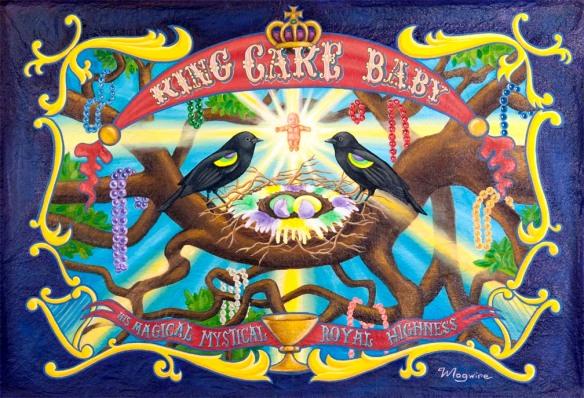 King Baby Cake