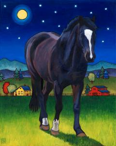 Midnight Mare by Stacey Neumiller