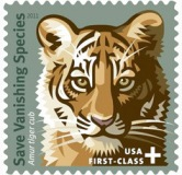 Save the Tiger Stamp