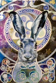Celtic Hare by Joanne