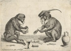 Monkey's Playing Cards