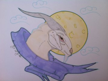 Moon Goat by Hell Gate Gypsy