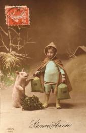 Vintage Truffle Pig