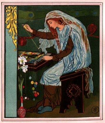 Lady of Shallot | Howard Pyle