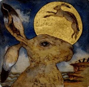 Lunar Hare | Mandy Walden