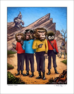 Star Trek Monkeys | Chet Phillips