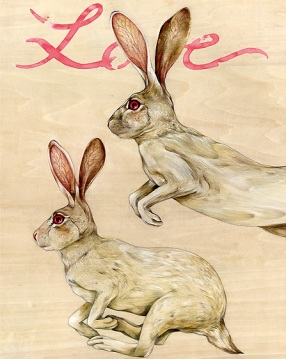 Love Rabbits | Lisel Ashlock