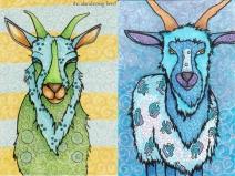 2 Goats | Kelley Kuhlman