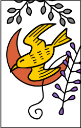 Hanafuda Bird