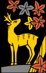 Hanafuda Deer