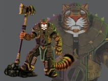 Steampunk Tigerlord | doubled